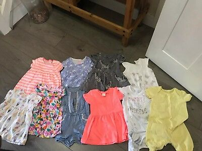 Baby Girl Summer Clothes Bundle 9-12 Months Girls' Clothing (newborn-5t) Clothing, Shoes & Accessories