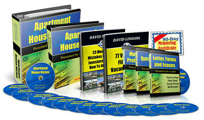 David Lindahl, Apartment House Riches Home Study Program (Real Estate Investing)
