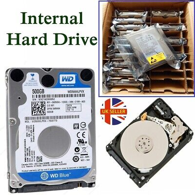 "Laptop 3.5"" SATA Internal Hard drive 160GB 250GB 320GB 500GB 1TB 2TB 3TB HDD LOT"