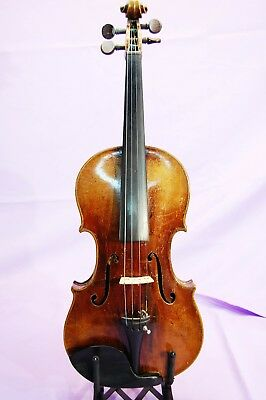 1919 violin Can't read lable, may be German