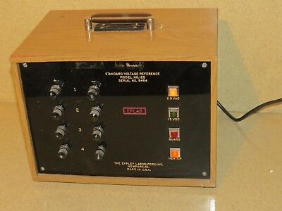 Eppley Eplab Standard Voltage Reference Model # 125