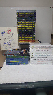 "(31) Books ~ Babylon 5 ""the Scripts""  Vol 1-15, Signed Cast Script ~ With Extras"