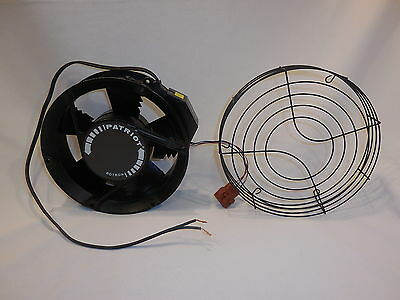 Patriot Rotron 24 VDC Fan High Speed High Volume With Cage Cover Model PD24B6QMN
