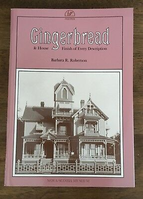 Nova Scotia Gingerbread house finish Victorian architecture wooden moulding trim