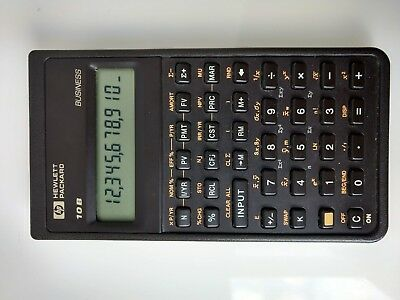 HP-10B Hewlett Packard HP 10B calculator
