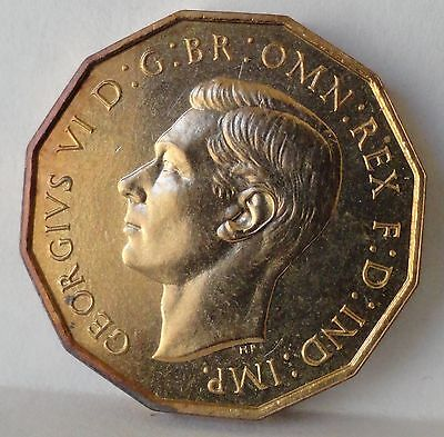 Great Britain 1937  3 Pence, Proof