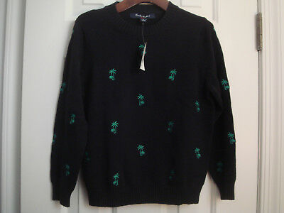 NWT BROOKS BROTHERS boys' navy sweater size S