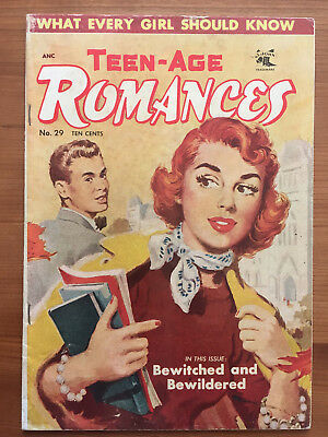 Teen-Age Romances #29 - St. John, 1953 - painted cover - VG/FN - scarce!