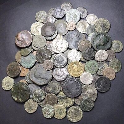 Huge Lot Of Mixed Higher Grade Ancient Roman Imperial Coins. 1 Coin Per Buy.