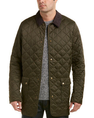 Barbour Mens  Thurland Quilted Jacket, M, Green