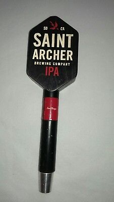 Saint Archer Brewing Company IPA Blond Beer Craft Tap Handle San Diego Man Cave