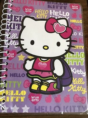 Sanrio Hello Kitty School Backpack Mini Spiral Notebook 2015