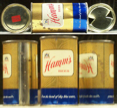Hamm's Beer Flat Top 12 ounce Can Hamm Brewing Cmpany St Paul Minnesota BE522