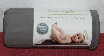 """Portable Soothing Vibrating Baby Mat Baby Gray Small (9""""x12""""x.78"""") QTY 1"""