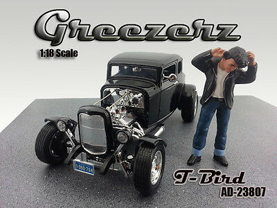 NEW FIGURINE! - T-Bird - Greezerz - 1/18 scale figure - AMERICAN DIORAMA