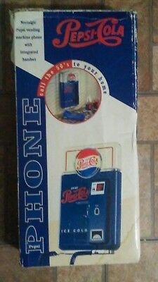 Vintage Pepsi-Cola Wall Mount Telephone / Phone