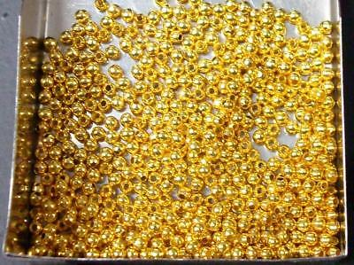 200 pcs Gold plated filigree spacer beads 8mm #10289GP