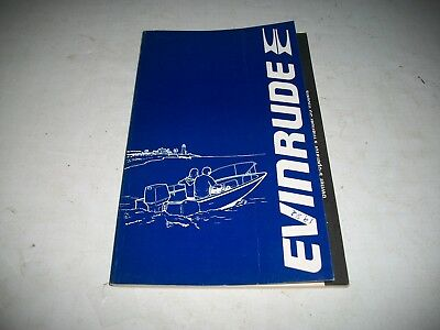 1982 Evinrude /  Johnson  35 Hp Models Outboard Owners Manual