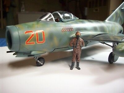 Built MIG-15 1/48 scale Airbrushed with Tamiya and Vallejo paints