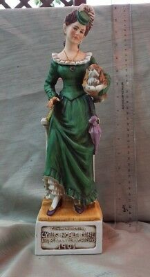 1974 CYRUS NOBLE DECANTER - MINE SERIES -MINER'S DAUGHTER - FULL SIZE 4/5 Qt