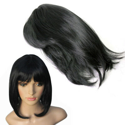 Sexy Short Straight BOB Hair Full Wig Cosplay Party for Women Girls Ladies