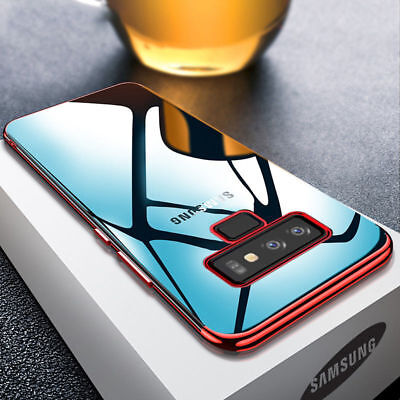 New Hybrid Slim Shockproof Plating Case Cover for Samsung Galaxy A7 2018 A5 A8