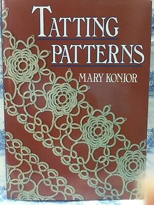 Tatting Patterns by Mary Konior  - highly-sought-after book
