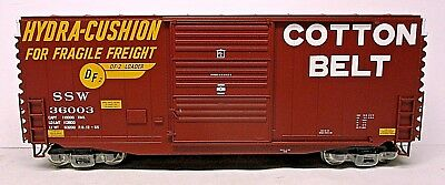Cotton Belt Hy Cube Boxcar- O Scale 2 Rail