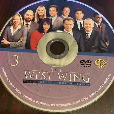The West Wing Season Four (Dvd) Replacement Disc #3
