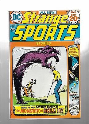 Strange Sports Stories #4 (Mar-Apr 1974, DC) Nice copy