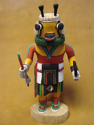 "Hopi Indian Hand Carved ""Bumble Bee"" Kachina by Deloria Adams! Native"