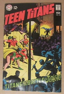 Teen Titans #20 (1969, DC) 4.5...Neal Adams art
