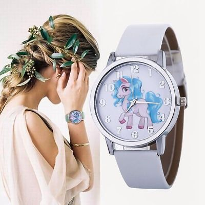 Unicorn Watch  Girls Boys Candy Color Children Kids Watches Trendy Classical