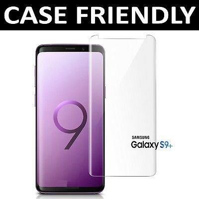 For Samsung Galaxy S9 Plus 100% Genuine Tempered Glass Screen Protector Clear