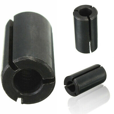 "1/2"" to 1/4"" Router Collet Adaptor Reduction Sleeve Tool Bit - A3 Carbon Steel"