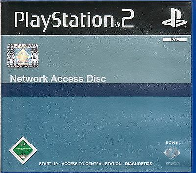 - Network Access Disk in OVP Sony Playstation PS 2 PAL -