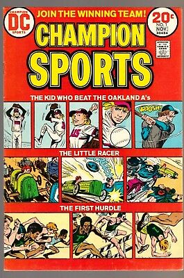 Champion Sports #1 DC Comics 1973 1st Issue