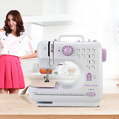 ANMAS HOME 12 Stitches Electric Overlock Sewing Machine Household Sewing Tool