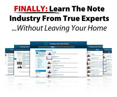 Fred Rewey, Finding Cash Flow Notes Training (Real Estate Investing Course)