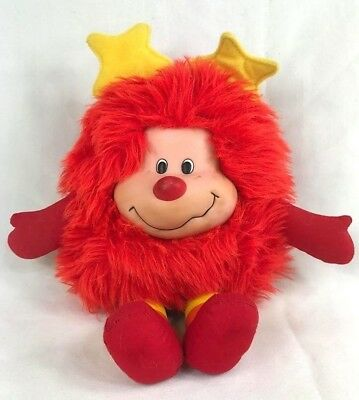 Vintage 1983 Rainbow Brite Romeo the Red Sprite Plush Toy Doll