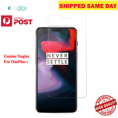 Genuine Nuglas Screen Protector For OnePlus 6 Tempered Glass Screen Protector