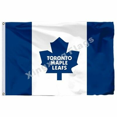 Toronto Maple Leafs Nation Flag 3X 5Ft Polyester Nhl Banner Toronto Maple Leafs