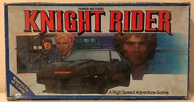 Knight Rider 80's Board Game - Parker Brothers Rare!
