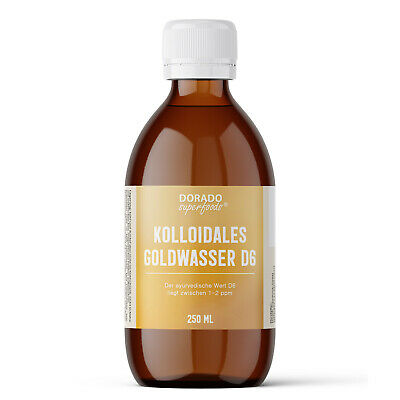 kolloidales Gold Goldwasser 250 ml D6 - oro colloidale