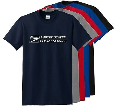 Unisex USPS Postal Post Office  Sleeve Tee T-shirt Any color you like