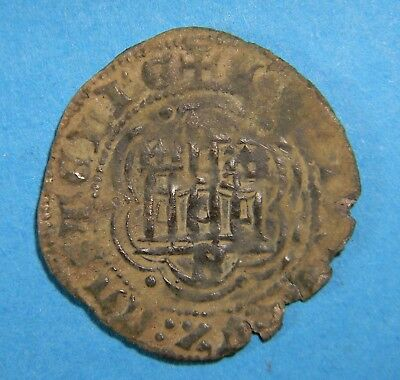 Spanish states Castile and Leon 1390-1406 Enrique III Seville  (0684)