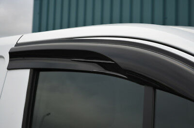 Side Window Wind Deflectors / Rain Shields To Fit Ford Transit Courier (2014+)