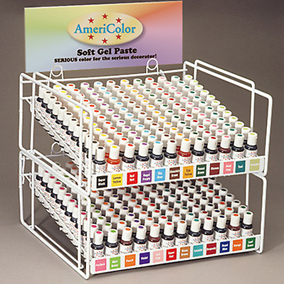 NEW AmeriColor Soft Gel Paste Food Color 21g Cake Decorating Cake Baker