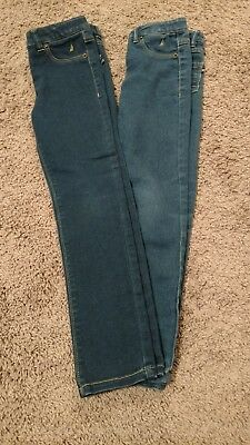 Nautica Jeans Girls Size 6 Jegging Stretch Lot of 2