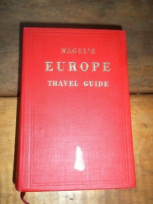 Nagel's EUROPE Travel Guide-1964-2nd Ed- Cold War EUROPE STREET BY STREET
